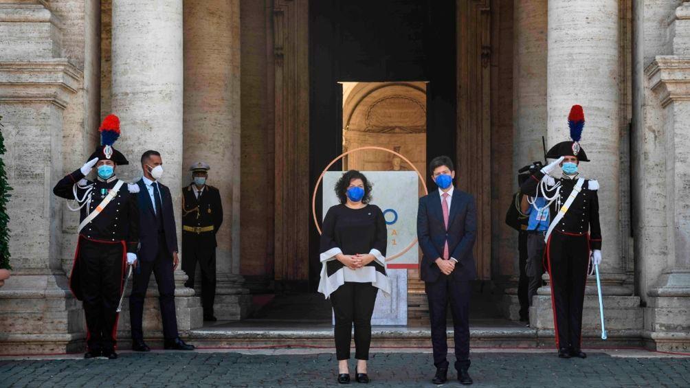 La ministra mantuvo encuentros bilaterales con sus pares de Reino Unido, Rusia y Brasil.