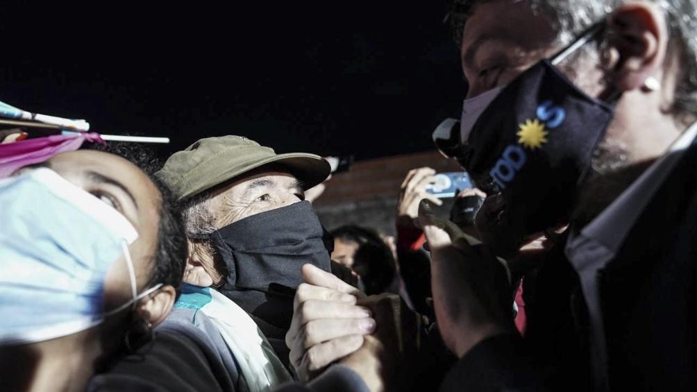 Kirchner encabezó el acto de cierre de campaña en Quilmes.(Foto: Prensa FdT).