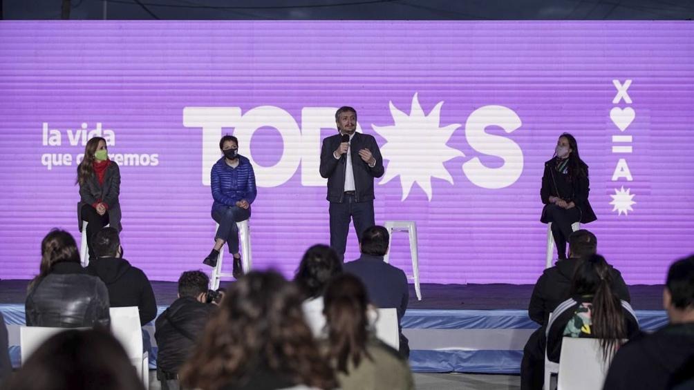 El diputado expresó sus definiciones durante el acto de cierre de campaña en Quilmes. (Foto: Prensa FdT).