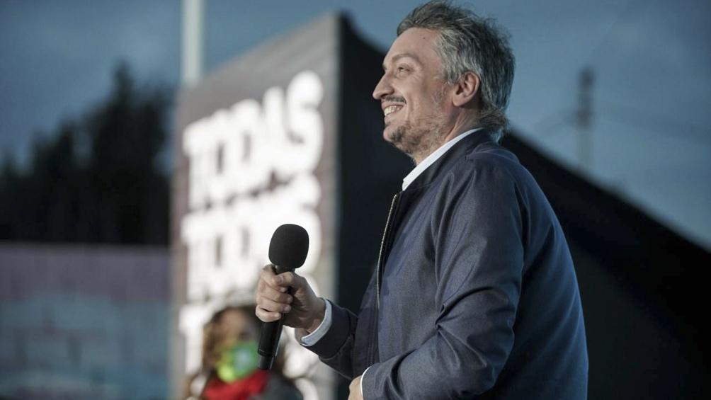 """""""Cuando la gente te da la responsabilidad de gobernar hay que darlo todo"""", dijo Kirchner. (Foto: Prensa FdT)."""