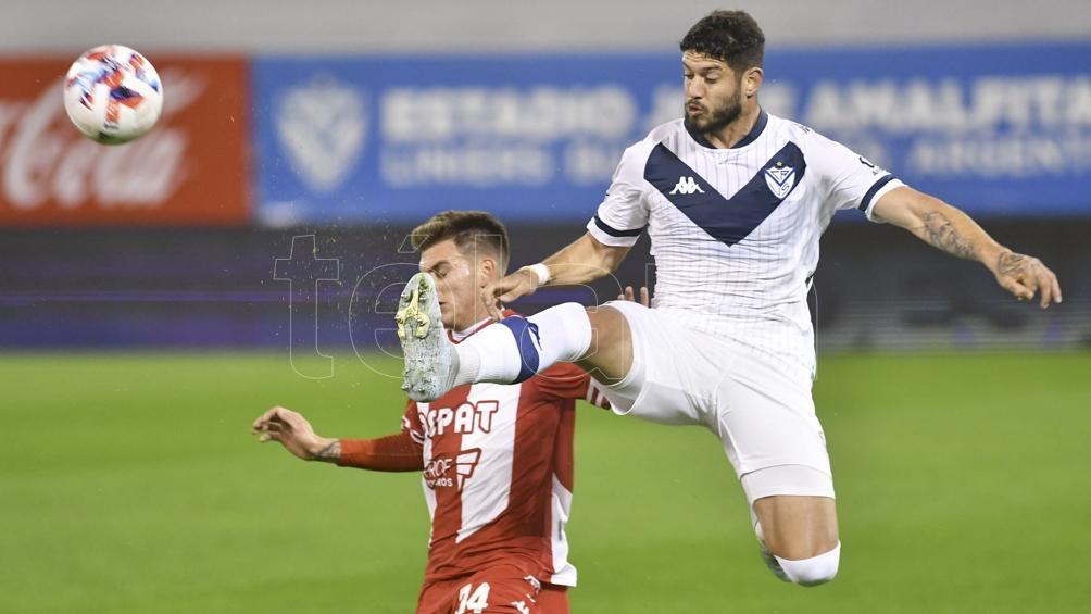 Vélez fue muy superior y terminó goleando (Foto: Alfredo Luna).