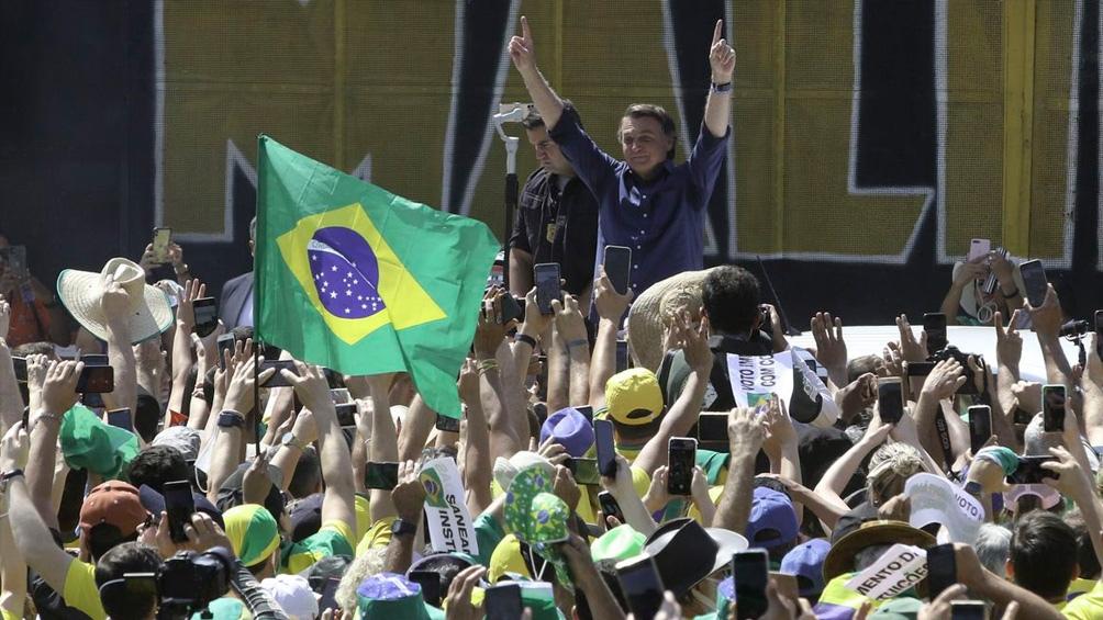 Las manifestaciones más importantes del bolsonarismo se dieron en Brasilia y San Pablo. Foto: EBC