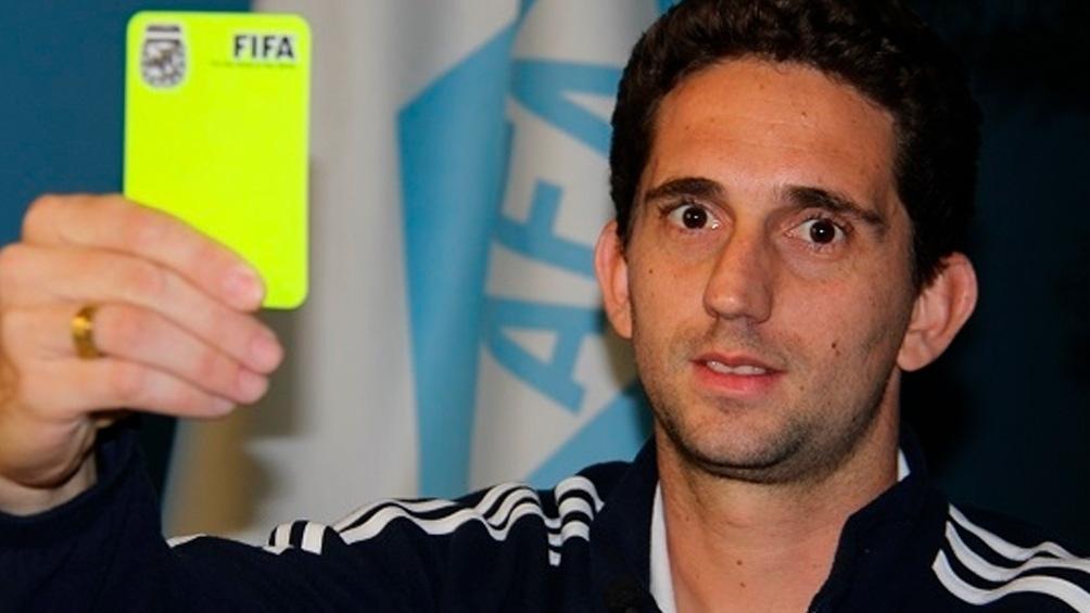 Lamolina será juez principal en el partido entre Boca y el Sabalero. Foto: @AFA
