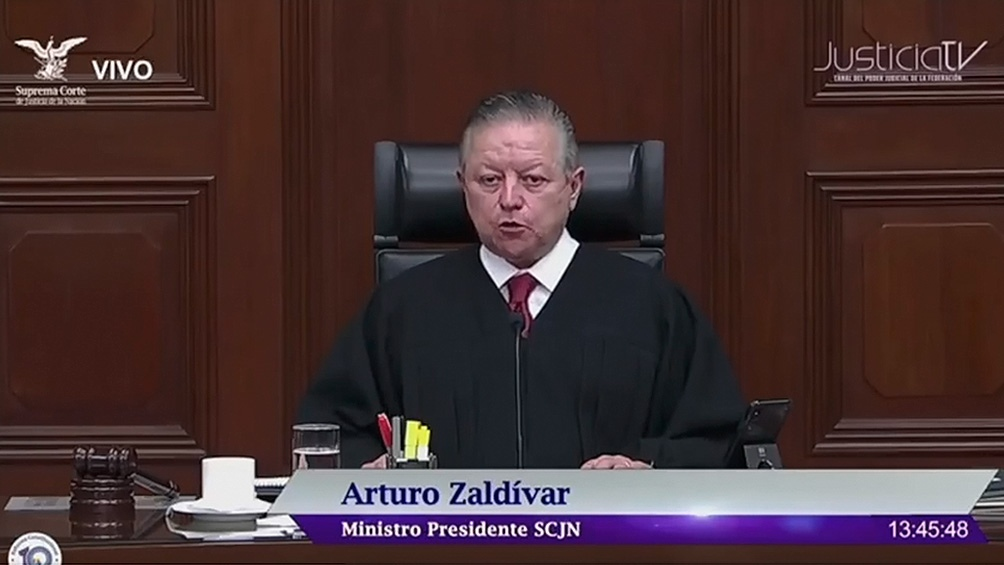 El juez Arturo Zaldívar declaró la inconstitucionalidad.