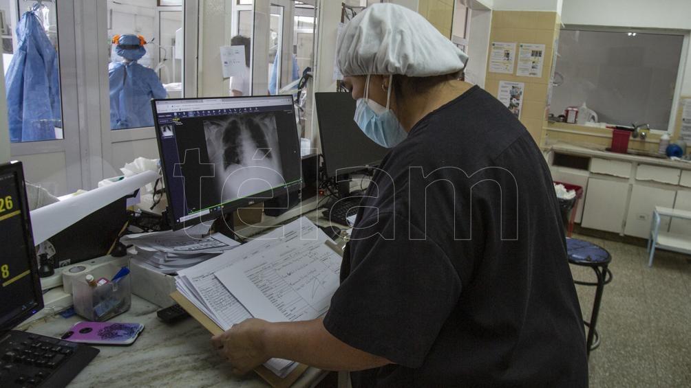"""En relación a la cantidad de internaciones de pacientes con coronavirus, el especialista remarcó que """"estamos en un descenso de casos"""". Foto: Bartoliche Alejandra"""