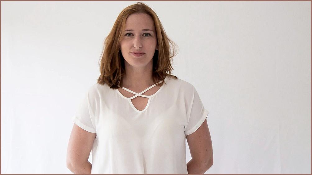La escritora Marta Barrio.