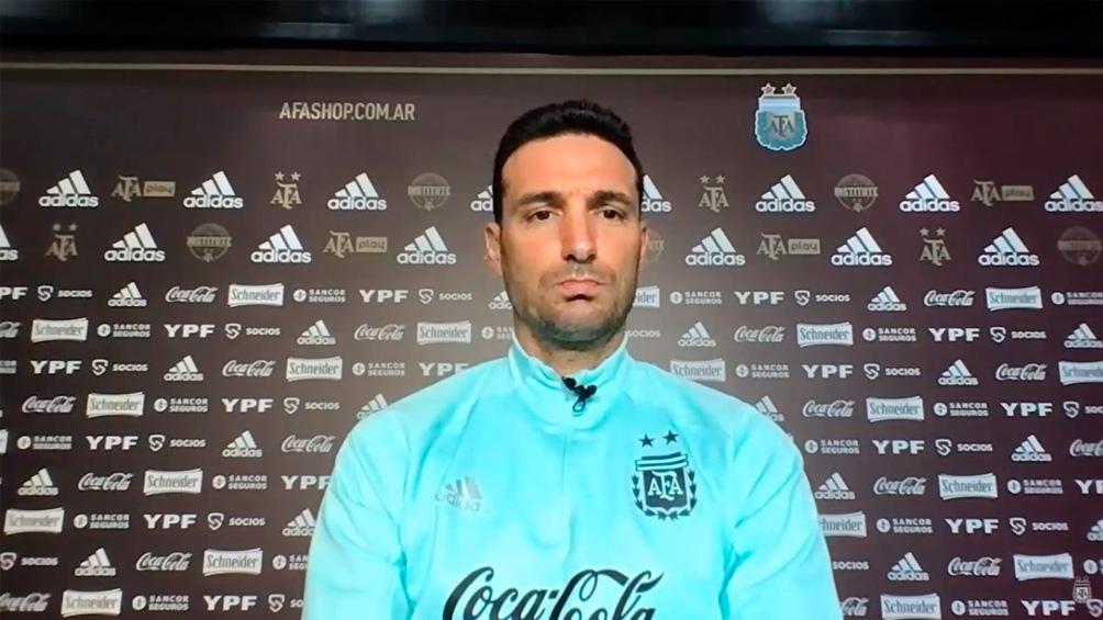 "Scaloni admitió que el seleccionado peruano ""es difícil""."