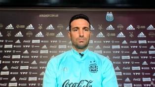"""Scaloni: """"No estoy atravesando una situación familiar buena para pensar en el Mundial"""""""