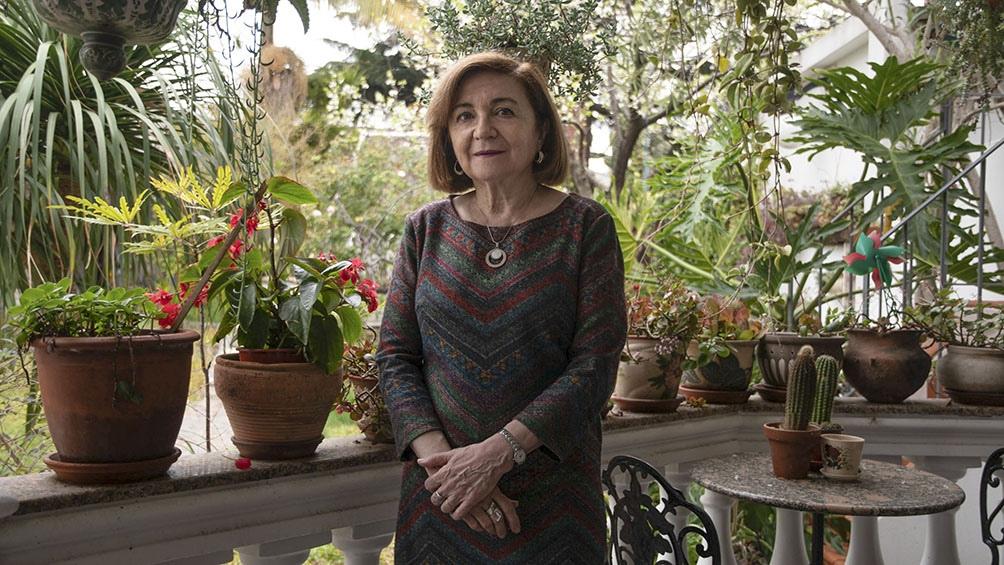Lojo recorrió la ficción histórica en varios libros. Foto:Camila Godoy.