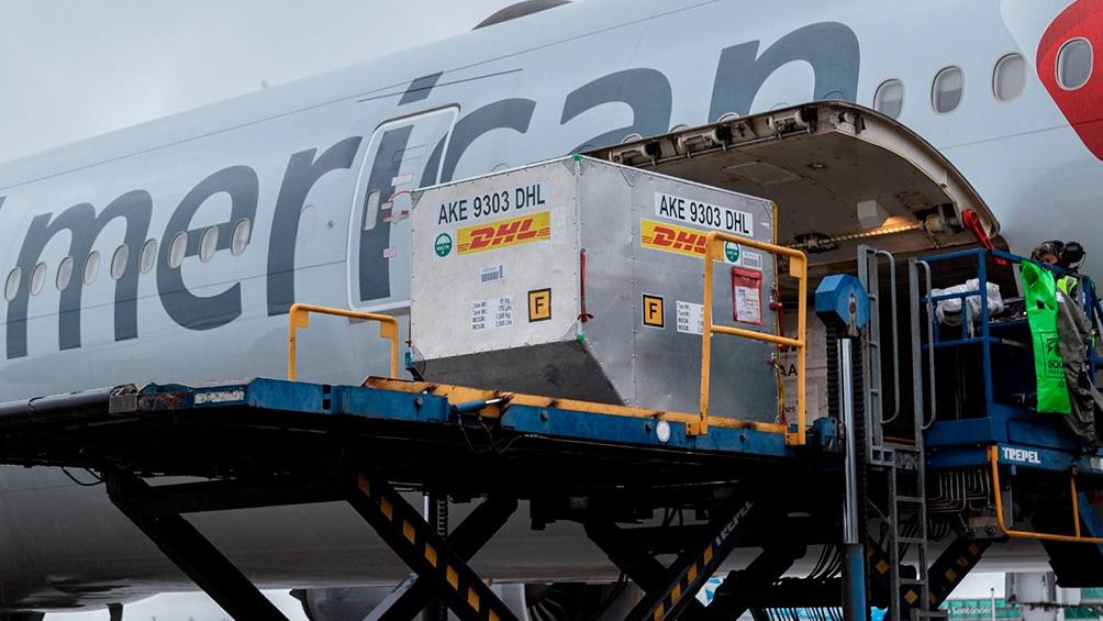 Los vuelos seguirán llegando durante septiembre, según disponibilidad, para completar las 580.000 dosis previstas para este mes.