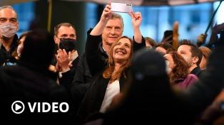 Junto a Macri y Larreta, Vidal cerró su campaña con una firme defensa a la gestión de Cambiemos