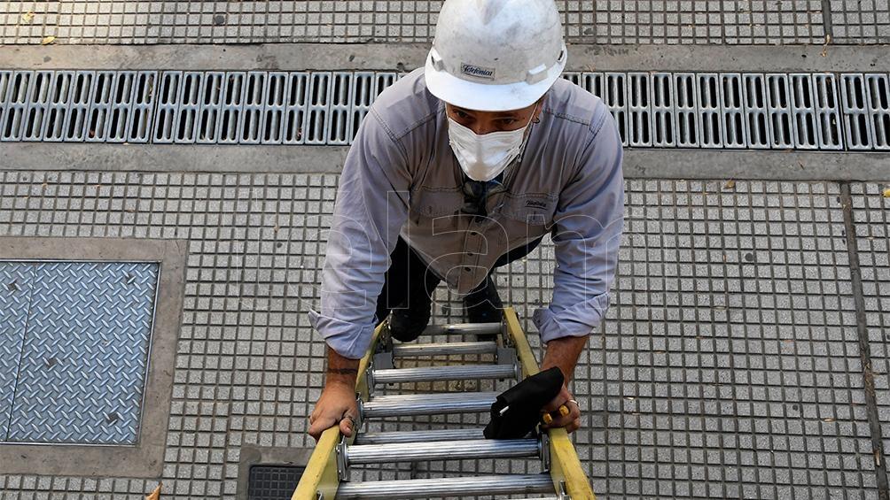 La recuperación de la economía argentina permite estimar que el desempleo bajará desde el 11,6% del año pasado al 10% este año y 9,2% para el año próximo.(Foto Raúl Ferrari)