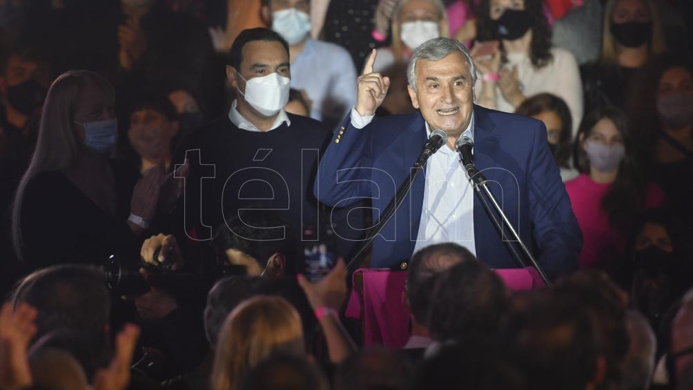 El gobernador de Jujuy, Gerardo Morales. Foto: Alfredo Luna.
