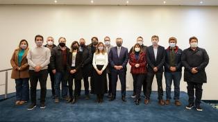 El Presidente mantuvo un encuentro con empresarios marplatenses