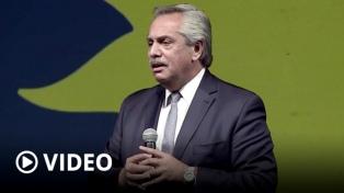 """Alberto Fernández: """"Voten por ustedes, voten por el pueblo"""""""