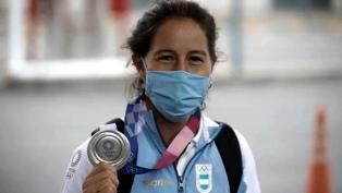 """Profundo dolor de la """"Leona"""" Sofía Maccari por el robo de su reciente medalla olímpica"""