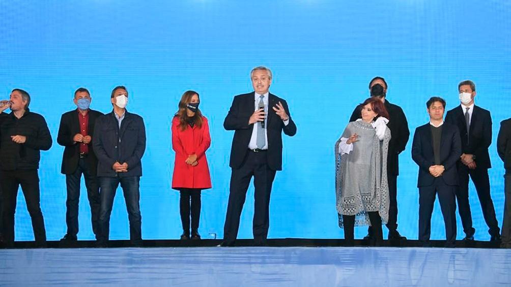 El acto se realizó en el predio ubicado en la localidad bonaerense de Villa Martelli. (Foto: Presidencia).