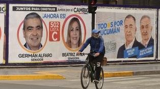 Tucumán: las principales fuerzas presentarán varias listas para definir candidatos
