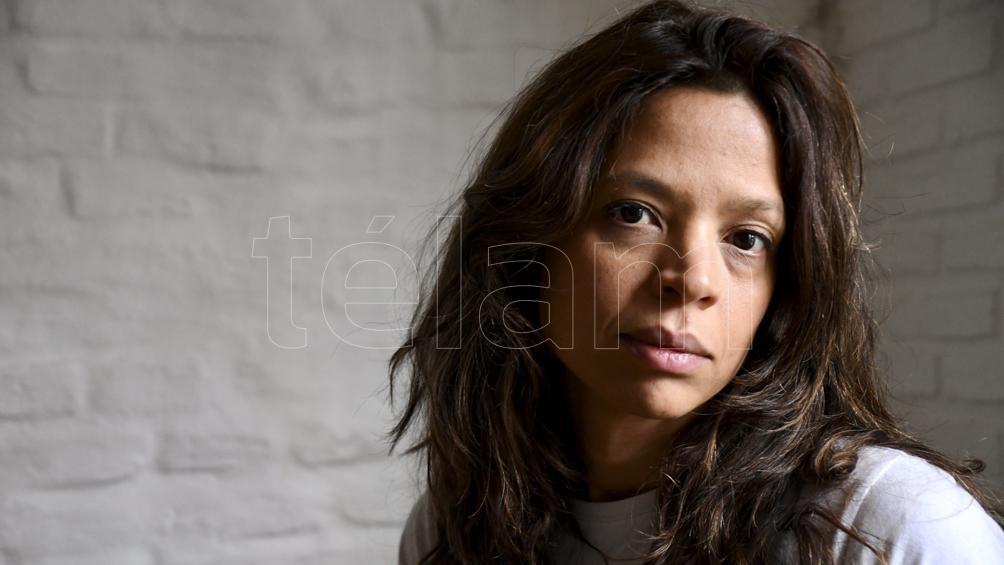 La escritora Luciana De Mello dictaba un taller en el Centro Universitario de la cárcel de Devoto.