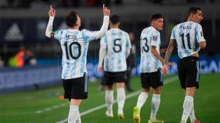 Messi, estrella del 3-0: los famosos explotaron en las redes sociales