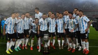 Argentina dio la vuelta olímpica ante su gente