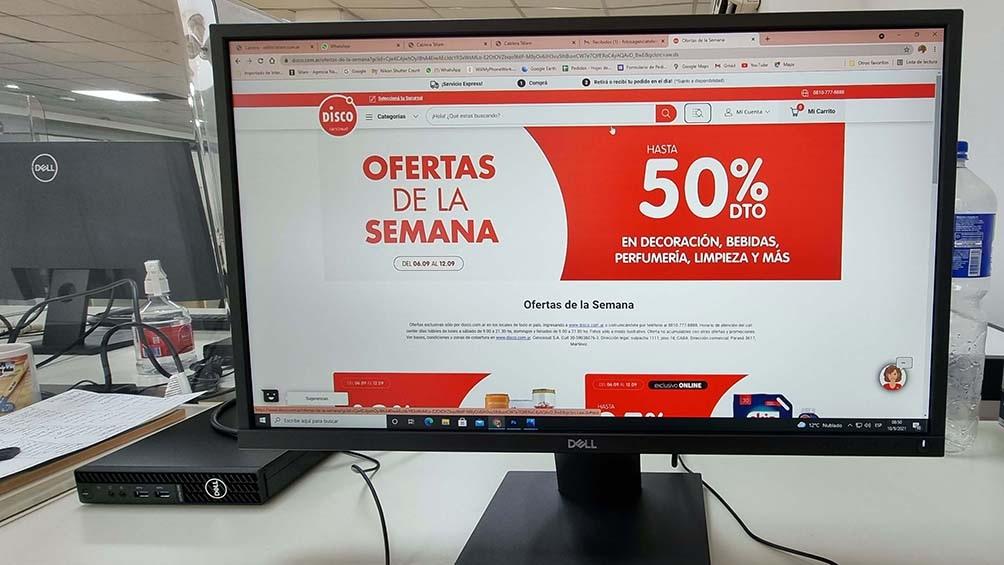 Reglamentaron la Ley de Góndolas para las tiendas virtuales de los  supermercados - Télam - Agencia Nacional de Noticias