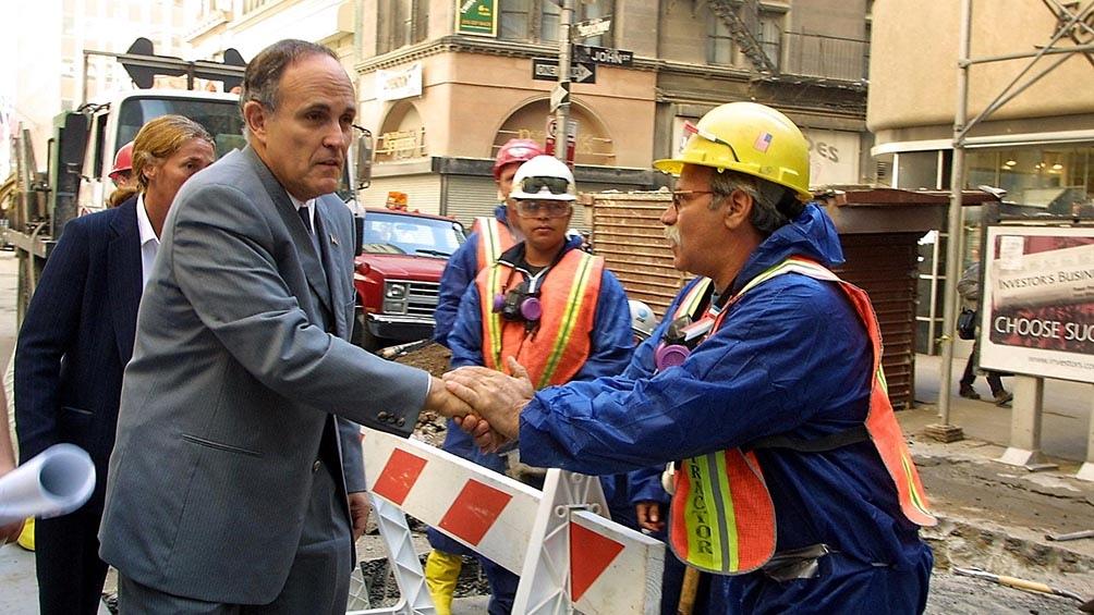 Rudolph Giuliani, exalcalde de Nueva York.