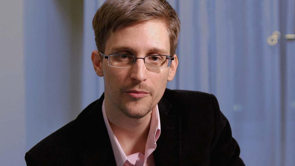 Edward Snowden, exagente de la CIA y la NSA . Foto: AFP