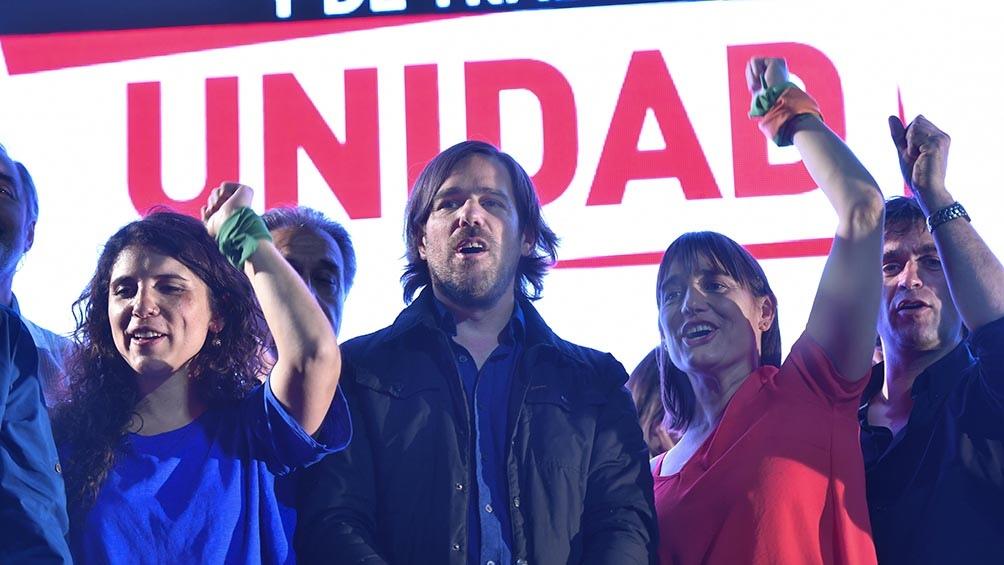 Desde el Frente de Izquierda aspiran a renovar las bancas de PBA con Romina del Pla y en CABA con Myriam Bregman (Foto: Alejandro Santa Cruz)