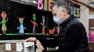 """Macri, tras emitir su voto: """"Es una elección muy importante para nuestro futuro"""""""