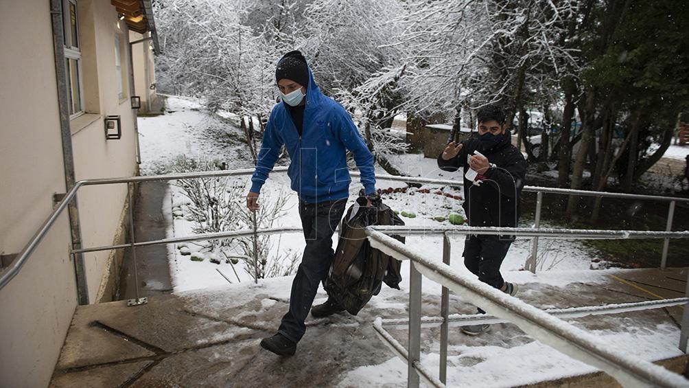 Bariloche, una elección bajo la nieve. Foto: Alejandro Bartoliche.