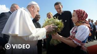 """En Eslovaquia, Francisco pidió una Europa """"libre de ideologías"""""""