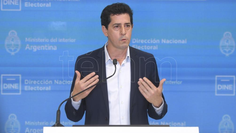 """Eduardo """"Wado"""" de Pedro, ministro del Interior. Foto: Julián Álvarez"""