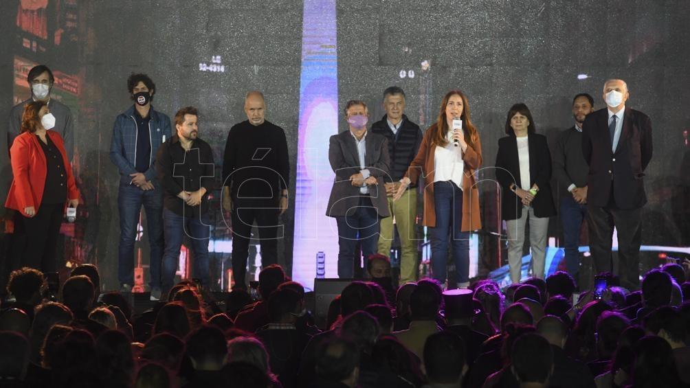 La Mesa Nacional de Juntos por el Cambio prepara un acto para el próximo martes (Foto Raúl Ferrari).