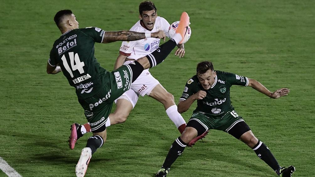 Sarmiento y Huracán están en el fondo de la tabla de promedios con 1.000.