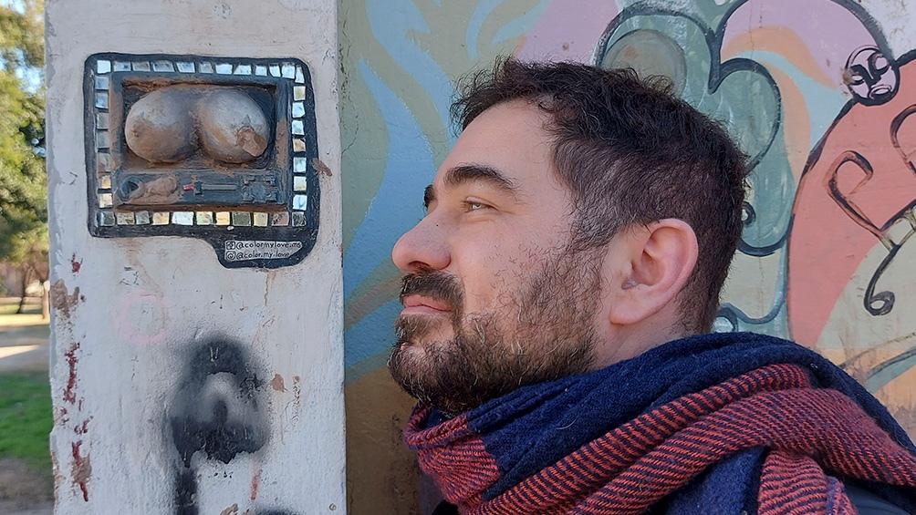 """Lo Presti, autor de las crónicas """"Recuerdos de Córdoba"""" y """"Yo escribo mucho peor""""."""