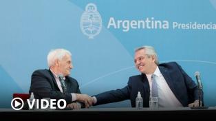 Alberto Fernández: �Este camino que iniciamos en 2019, en lo que a nosotros concierne, no se va a alterar�