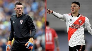 En River, Armani y Suárez recibieron el alta médica y Casco está descartado por una lesión