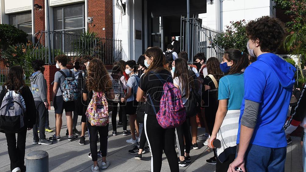 El Ministerio de salud de la Ciudad de Buenos Aires está realizando una investigación epidemiológica para determinar fehacientemente la cantidad de casos en el colegio. Foto archivo Gustavo Amarelle.