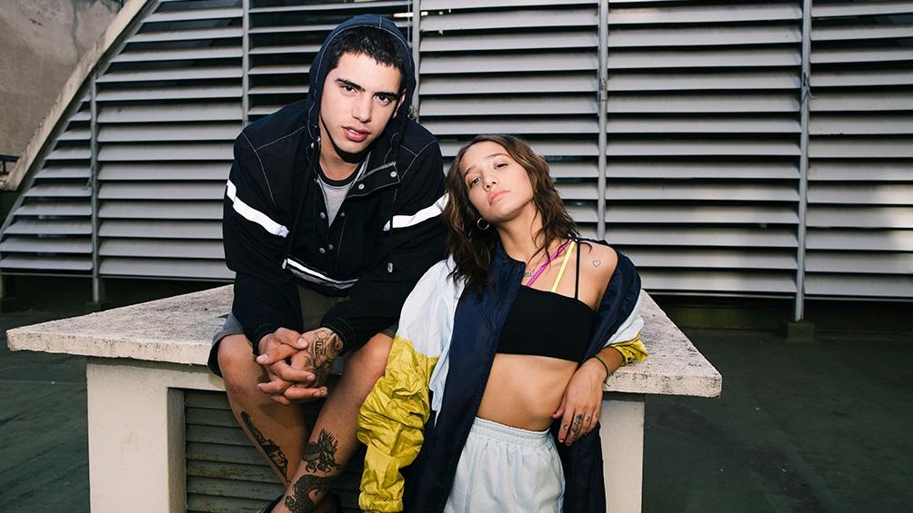 Ecko y Angela Torres, protagonistas de la serie creada por Hernán Gerschuny (Foto: HBO Max)