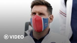 Messi y el PSG pisaron suelo belga para el debut, en busca de la ansiada Copa