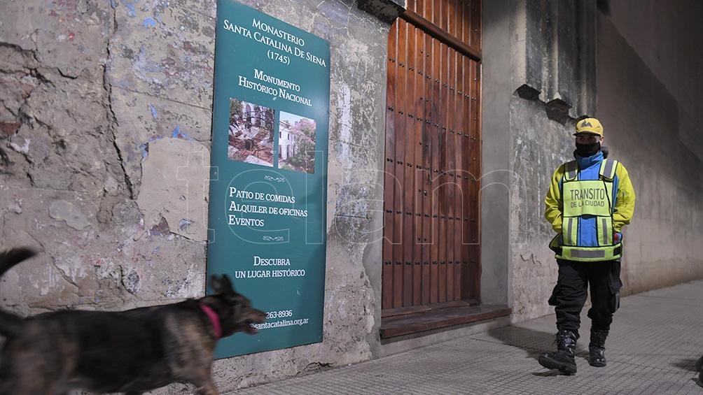 El convenio contempla a la manzana que integra el Área de Protección Histórica denominada Catedral al Norte, y está delimitada por la avenida Córdoba y las calles Viamonte, San Martín y Reconquista. Foto: Julián Álvarez