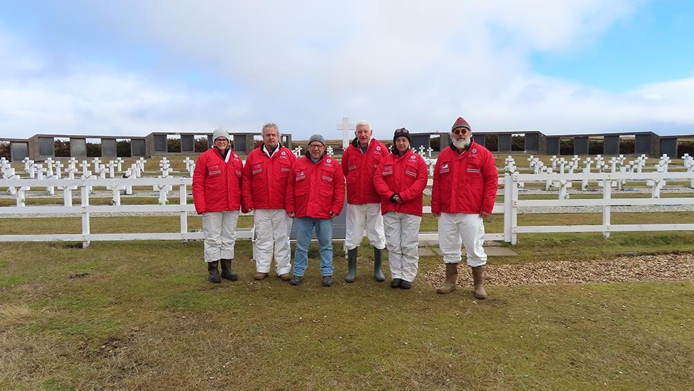 Los trabajos de campo en Darwin se desarrollaron cuatro años después del primer proyecto, que permitió identificar a 115 soldados argentinos.