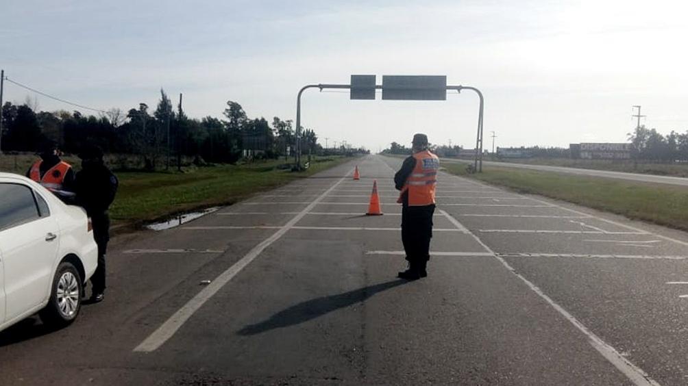 El accidente ocurrió pasadas las 3.30 en el kilómetro 96 de la ruta 2, de la mano que va hacia la Costa Atlántica