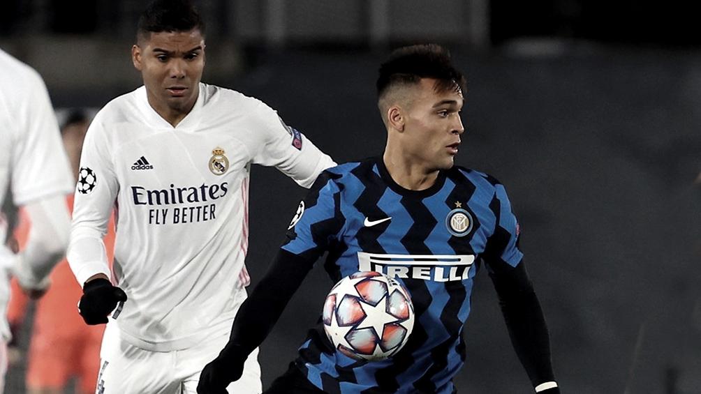 Inter, con Lautaro Martínez, será local ante el poderoso Real Madrid