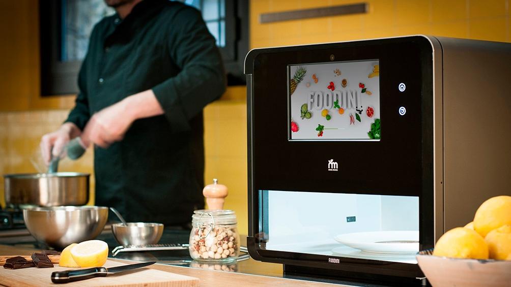 Foodini es un artefacto de impresión 3D para cocina desarrollado por Natural Machines.