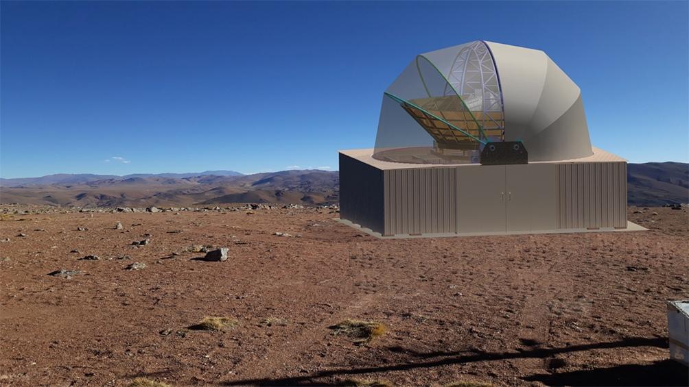 Se estima que en marzo del año próximo el telescopio comenzará a funcionar. (Proyecto Qubic)