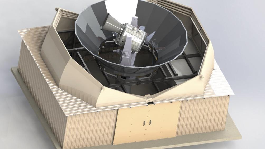 El telescopio tiene por objetivo desentrañar los secretos del origen del universo. (Foto: Proyecto Qubic)