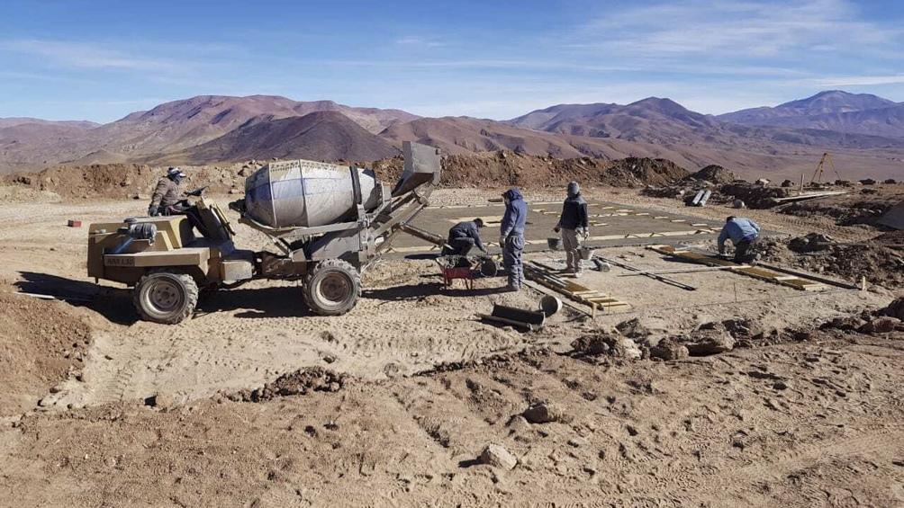 En Alto Chorrillos, a 20 kilómetros de San Antonio de los Cobres, será instalado el telescopio. (Proyecto Qubic)