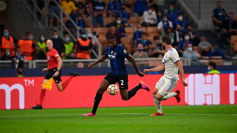 Inter cayó, sobre la hora y como local, ante el Real Madrid Foto: @Inter